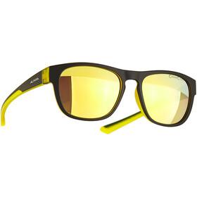 Alpina Lino II Glasses, zwart/geel